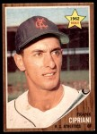1962 Topps #333  Frank Cipriani  Front Thumbnail