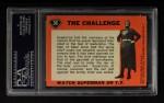 1966 Topps Superman #36   The Challenge Back Thumbnail