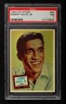 1957 Topps Hit Stars #83  Sammy Davis Jr.   Front Thumbnail