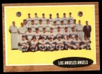 1962 Topps #132 GRN  Angels Team Front Thumbnail