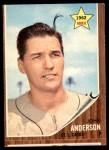 1962 Topps #266  John Anderson  Front Thumbnail