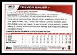 2013 Topps Update #2  Trevor Bauer  Back Thumbnail