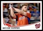 2013 Topps Update #100   -  Bryce Harper Home Run Derby Front Thumbnail