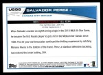 2013 Topps Update #98   -  Salvador Perez All-Star Back Thumbnail