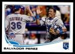 2013 Topps Update #98   -  Salvador Perez All-Star Front Thumbnail