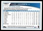 2013 Topps Update #97  Alexi Amarista  Back Thumbnail