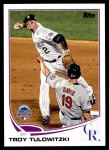 2013 Topps Update #88   -  Troy Tulowitzki All-Star Front Thumbnail