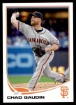 2013 Topps Update #86  Chad Gaudin  Front Thumbnail
