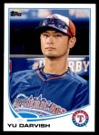 2013 Topps Update #79   -  Yu Darvish All-Star Front Thumbnail