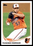 2013 Topps Update #78  Francisco Rodriguez  Front Thumbnail