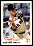 2013 Topps Update #73   -  Buster Posey All-Star Front Thumbnail