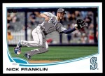 2013 Topps Update #68  Nick Franklin  Front Thumbnail