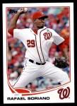 2013 Topps Update #61  Rafael Soriano  Front Thumbnail