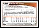 2013 Topps Update #60  Chris Tillman  Back Thumbnail