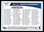 2013 Topps Update #46   -  Yasiel Puig Record Chase Player of the Month Back Thumbnail