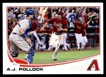 2013 Topps Update #34  A.J. Pollock  Front Thumbnail