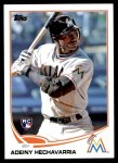 2013 Topps Update #32  Adeiny Hechavarria  Front Thumbnail