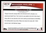 2013 Topps Update #12   -  Brandon Phillips All-Star Back Thumbnail