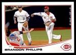 2013 Topps Update #12   -  Brandon Phillips All-Star Front Thumbnail