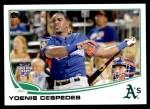 2013 Topps Update #7   -  Yoenis Cespedes Home Run Derby Front Thumbnail