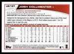 2013 Topps Update #197  Josh Collmenter  Back Thumbnail