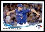 2013 Topps Update #190  Steve Delabar  Front Thumbnail