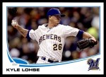 2013 Topps Update #189  Kyle Lohse  Front Thumbnail