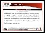 2013 Topps Update #188   -  Cliff Lee All-Star Back Thumbnail