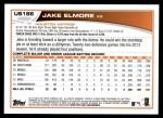 2013 Topps Update #186  Jake Elmore  Back Thumbnail