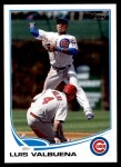 2013 Topps Update #182  Luis Valbuena  Front Thumbnail