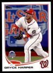 2013 Topps Update #180   -  Bryce Harper All-Star Front Thumbnail