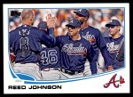 2013 Topps Update #173  Reed Johnson  Front Thumbnail