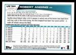 2013 Topps Update #164  Robert Andino  Back Thumbnail