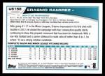 2013 Topps Update #158  Erasmo Ramirez  Back Thumbnail