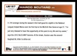 2013 Topps Update #157   -  Marco Scutaro All-Star Back Thumbnail