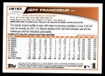 2013 Topps Update #153  Jeff Francoeur  Back Thumbnail