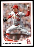 2013 Topps Update #152  Randy Choate  Front Thumbnail