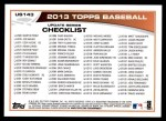 2013 Topps Update #143   -  Tim Lincecum Record Chase: No-Hitter Back Thumbnail