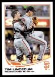 2013 Topps Update #143   -  Tim Lincecum Record Chase: No-Hitter Front Thumbnail