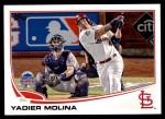 2013 Topps Update #142   -  Yadier Molina All-Star Front Thumbnail