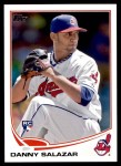 2013 Topps Update #138  Danny Salazar  Front Thumbnail