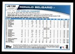 2013 Topps Update #132  Ronald Belisario  Back Thumbnail