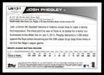 2013 Topps Update #131  Josh Phegley  Back Thumbnail