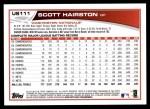 2013 Topps Update #111  Scott Hairston  Back Thumbnail