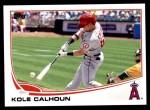 2013 Topps Update #110  Kole Calhoun  Front Thumbnail