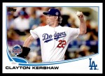 2013 Topps Update #106   -  Clayton Kershaw All-Star Front Thumbnail