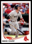 2013 Topps Update #307  Mike Carp  Front Thumbnail
