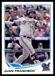 2013 Topps Update #301  Juan Francisco  Front Thumbnail