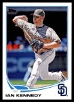 2013 Topps Update #299  Ian Kennedy  Front Thumbnail