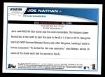 2013 Topps Update #296   -  Joe Nathan All-Star Back Thumbnail